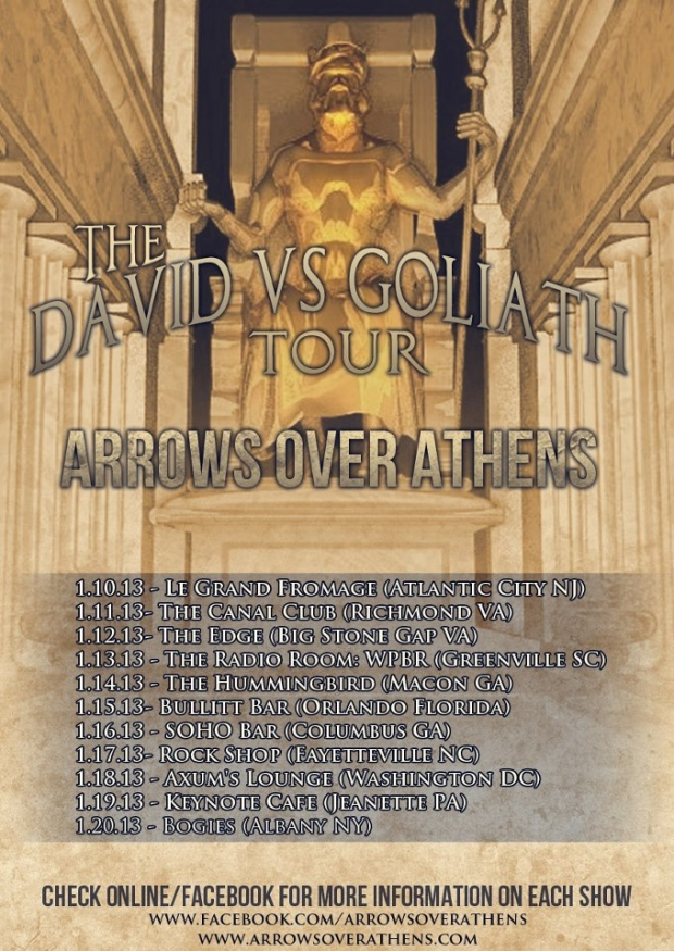 the david vs goliath tour