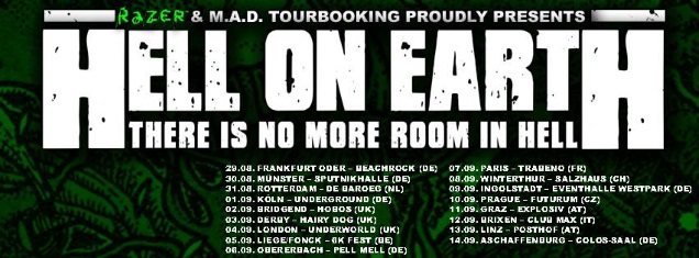 HELL ON EARTH tour