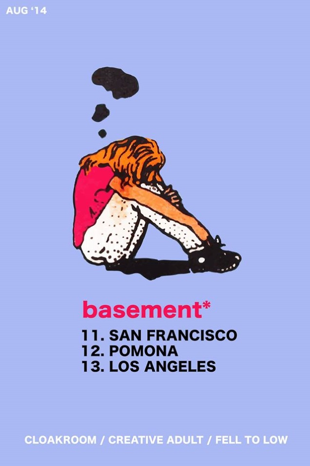 BASEMENT live at the US West Coast