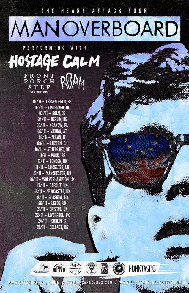 MAN OVERBOARD European dates