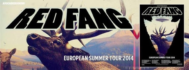 RED FANG on tour