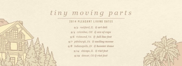 TINY MOVING PARTS on tour