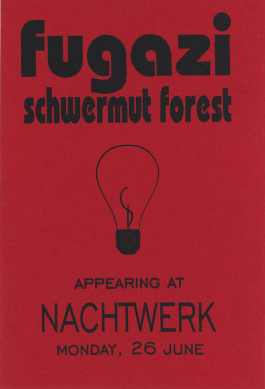 FUGAZI live in Munich