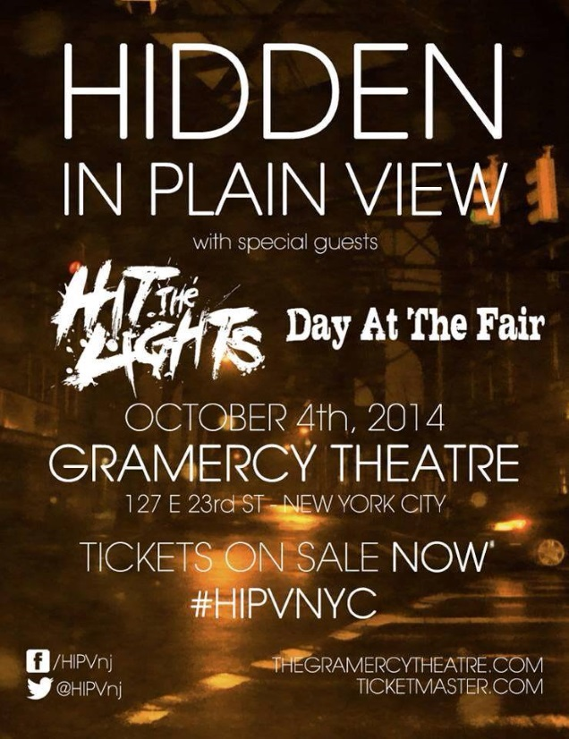 HIDDEN IN PLAIN VIEW tour