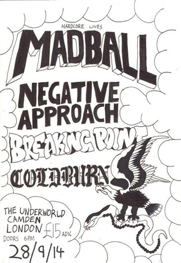 MADBALL and BREAKING POINT live in London