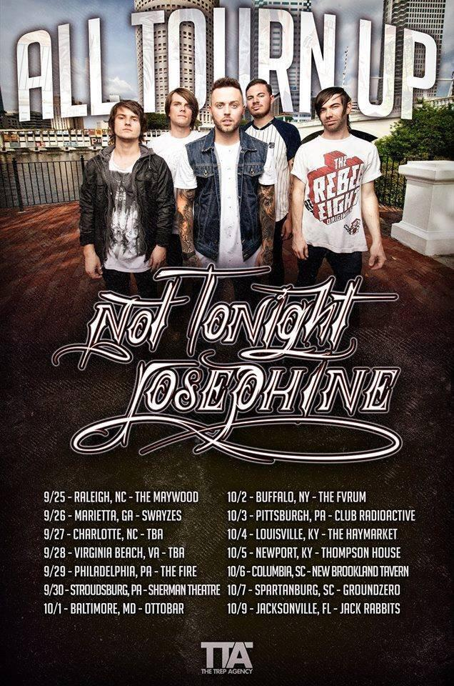 NOT TONIGHT JOSEPHINE on tour