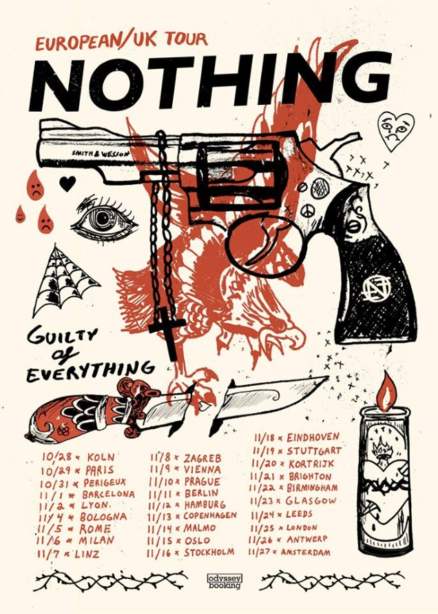 NOTHING European tour