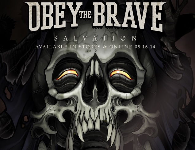 OBEY THE BRAVE promo