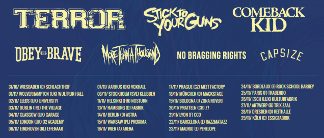 STYG on tour