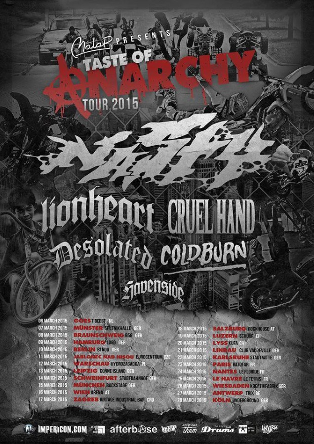 Taste Of Anarchy tour