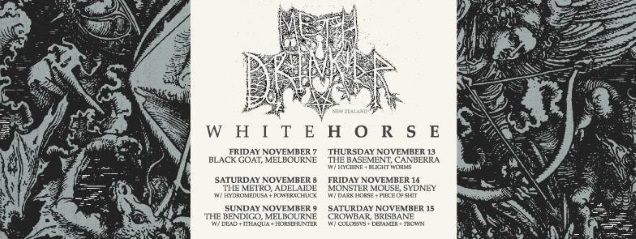 WHITEHORE tour dates