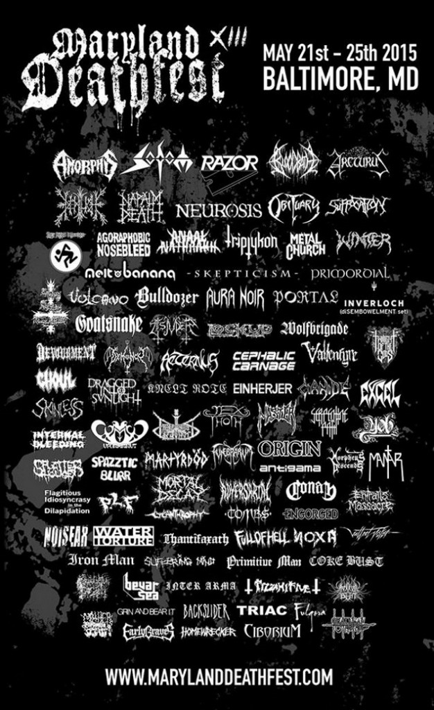 MARYLAND DEATH FEST