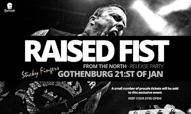 RAISED FIST!