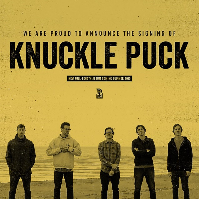 KNUCKLE PUCK band