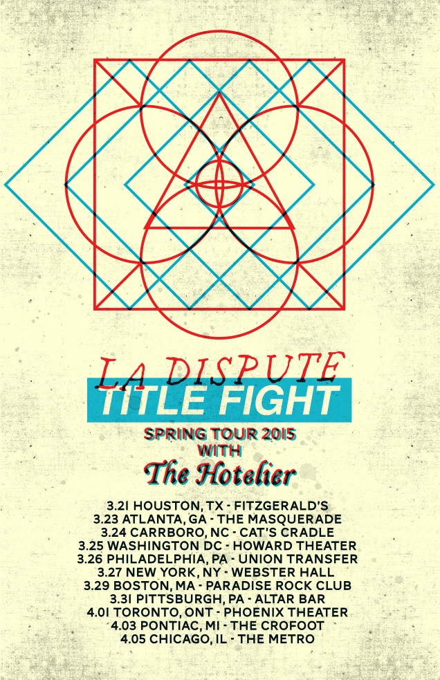 LA DISPUTE on tour