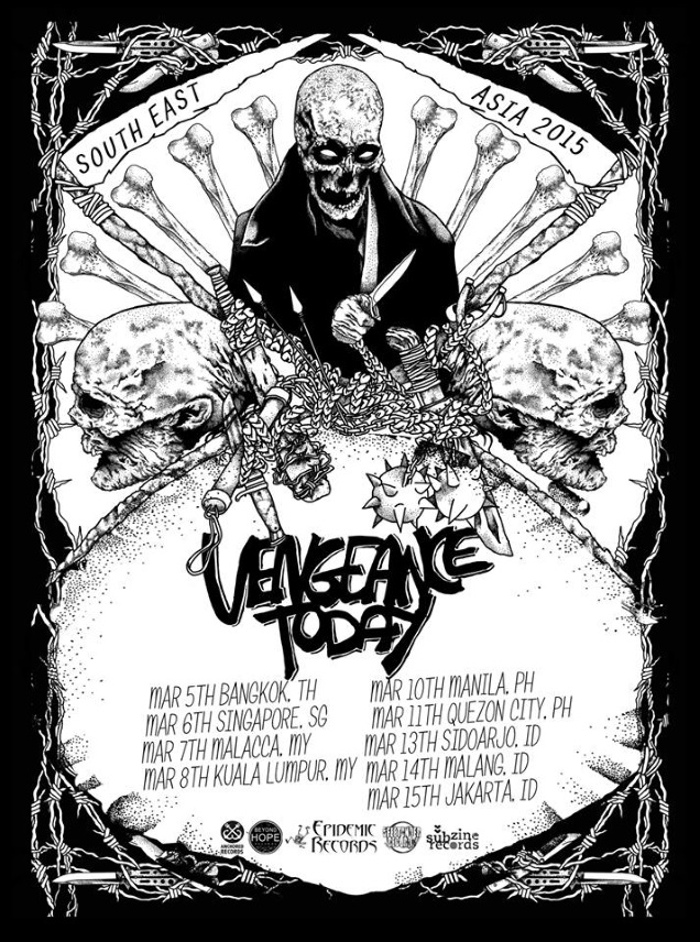 VENGEANCE TODAY on tour