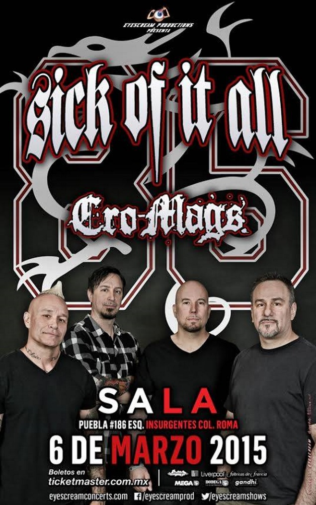 CRO MAGS with SOIA