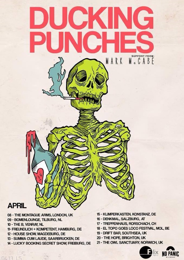 DUCKING PUNCHES!