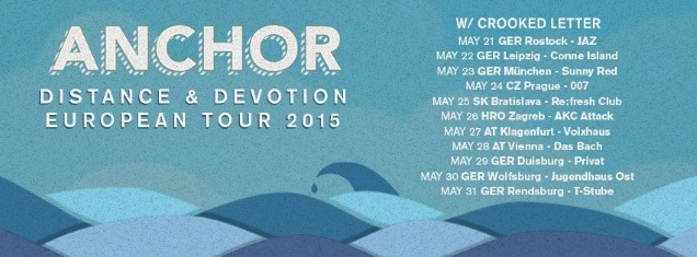 ANCHOR tour dates