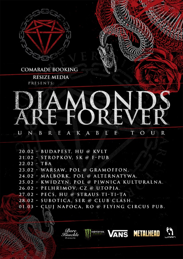 DIAMONDS ARE FOREVER tour