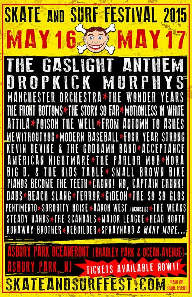 SKATE AND SURF!