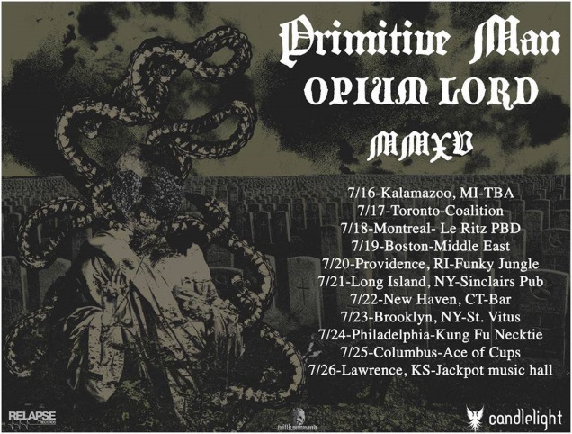 PRIMITIVE MAN + OPIUM LORD