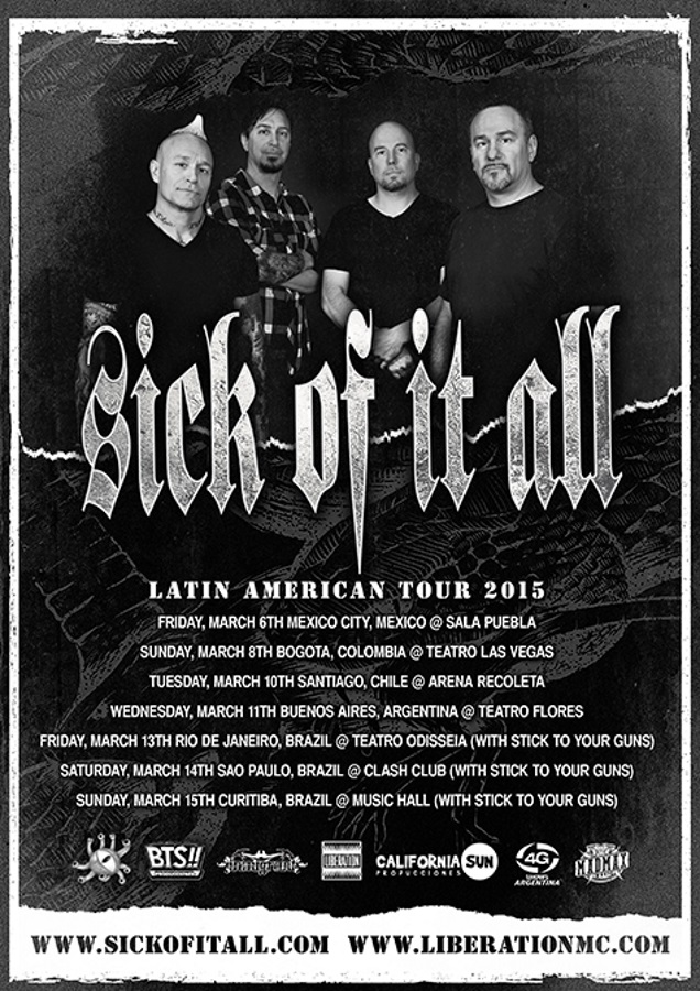 SOIA live in South America