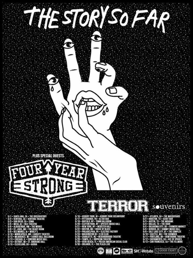 4 YEAR STRONG tour