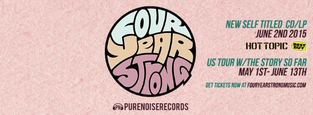 FOUR YEAR STRONG promo