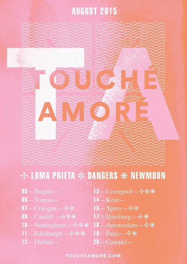 TOUCHE AMORE!