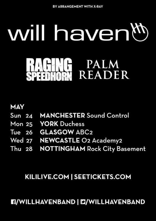 WILL HAVEN on tour