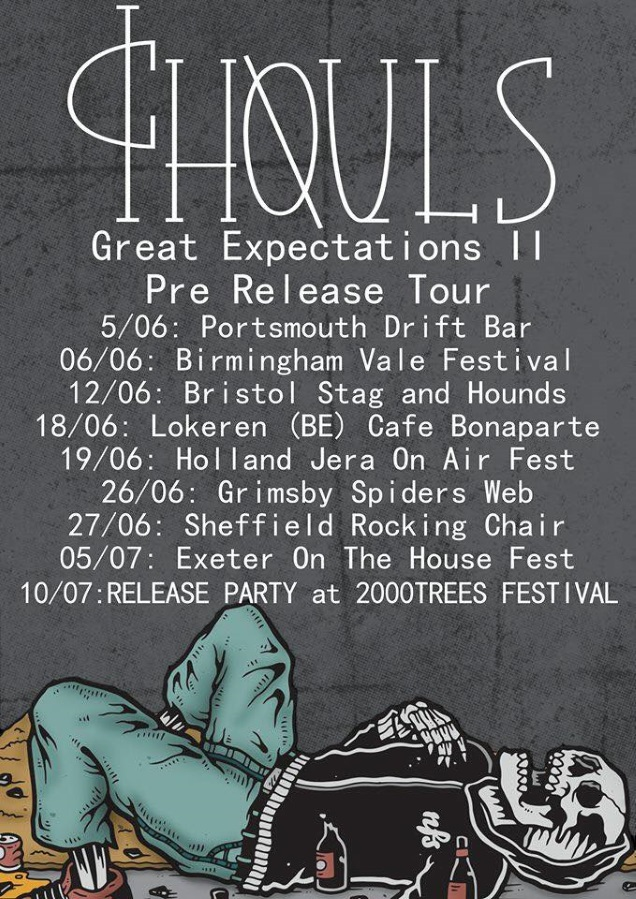 GHOULS on tour