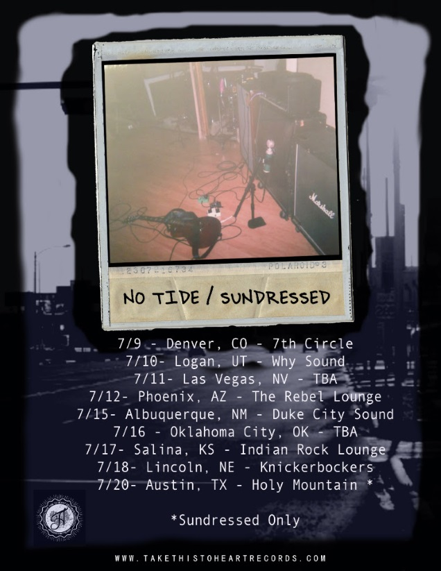 NO TIDE dates