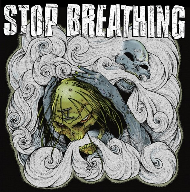 STOP BREATHING cover