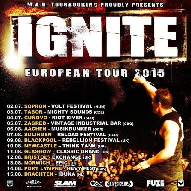 IGNITE European tour