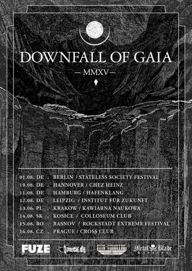 DOWNFALL OF GAIA Summer dates