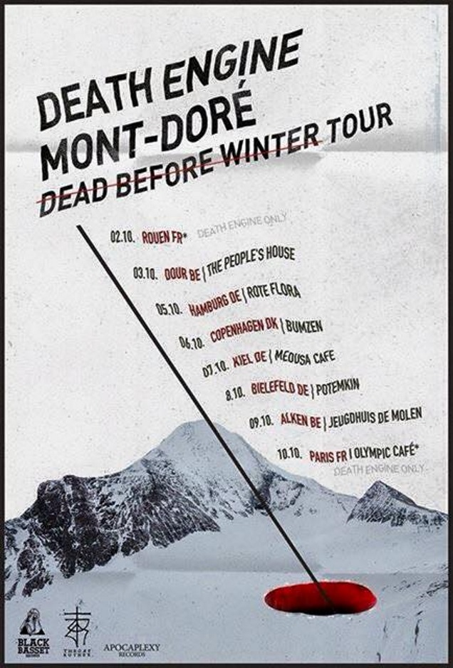 DEATH ENGINE tour