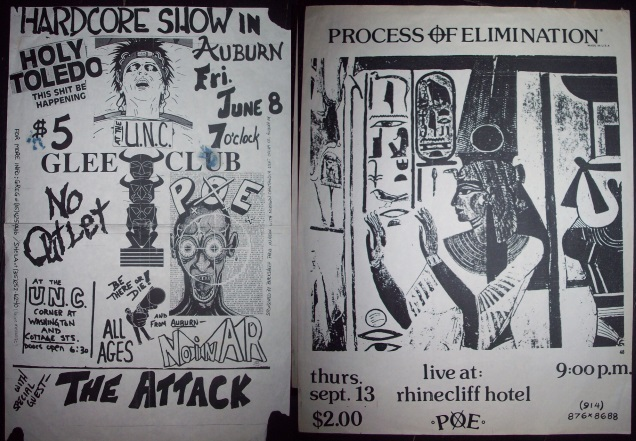 PROCESS OF ELIMINATION old flyers