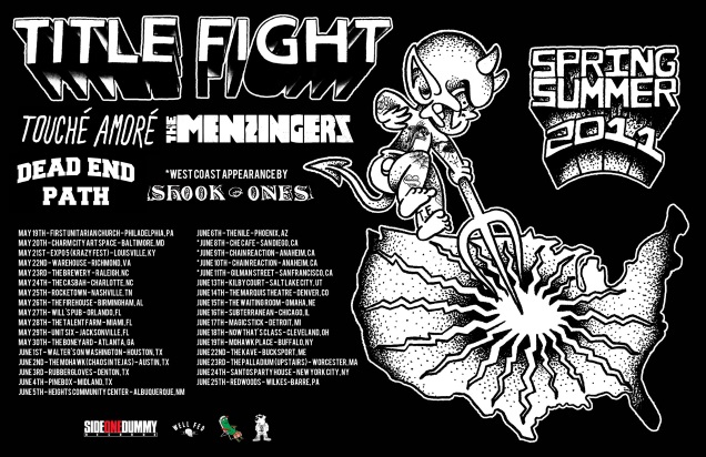 TITLE FIGHT on tour