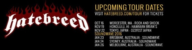 HATEBREED shows