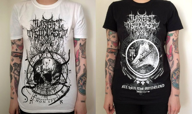 THIS GIFT IS A CURSE merch tees