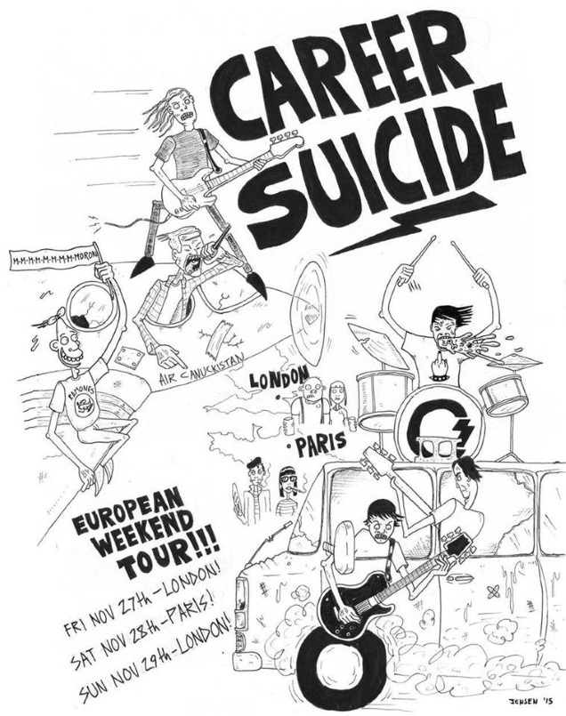 CAREER SUICIDE!