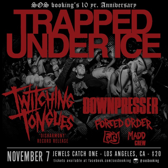 TRAPPED UNDER ICE Los Globos