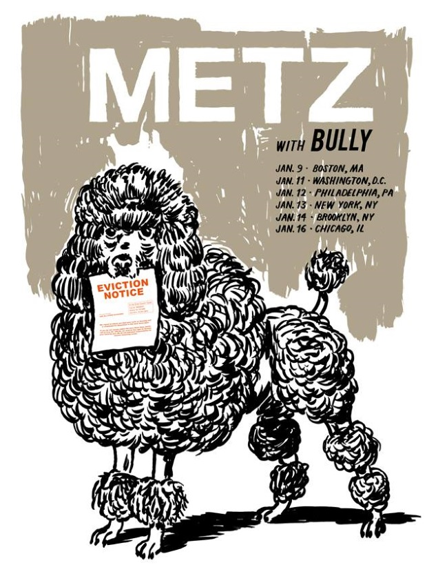 METZ dates with BULLY