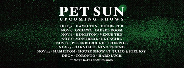 PET SUN shows