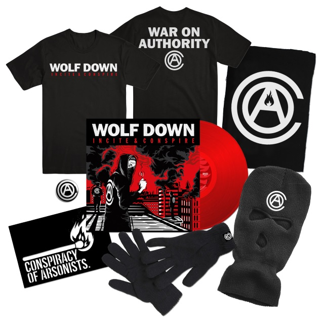 WOLF DOWN merch