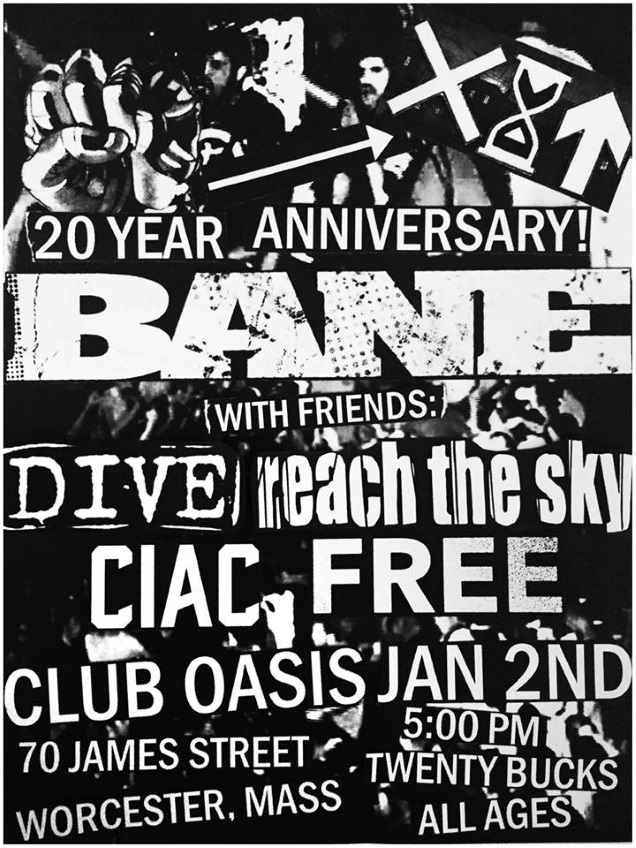 BANE 20th shows!!