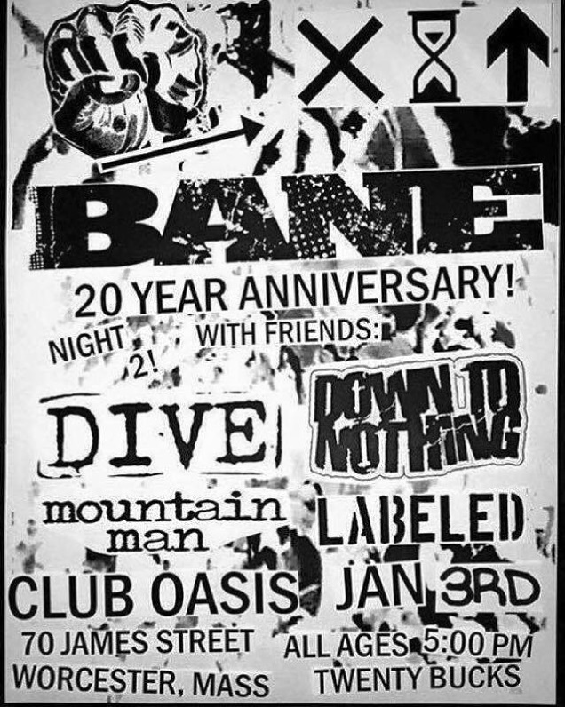 BANE 20th shows!
