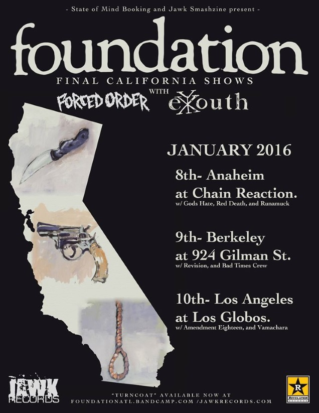 FOUNDATION CA shows