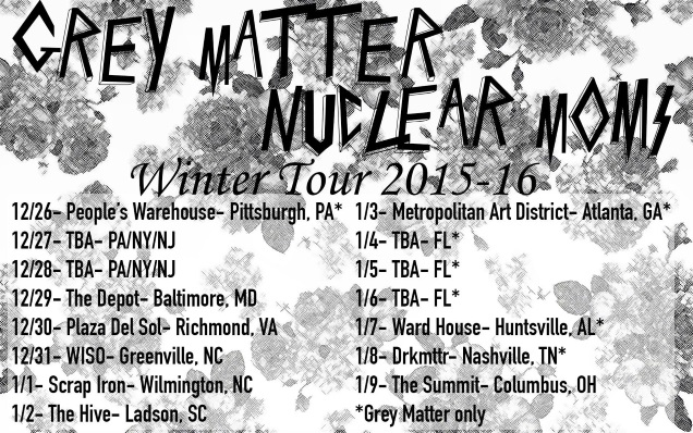 NUCLEAR MOMS on tour
